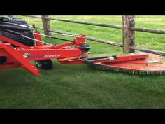 Futusion HD Raster Master Promo video jan 09 Rastermaster mower to cut around poles DR Hitch Trimmer Mower Grass mower. Tractor Attachments, Wheelbarrow, Cool Tools, Tractors, Garden Tools, Fence, Workshop, Youtube, Furniture