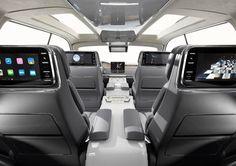 2017 Lincoln Navigator interior with screens  #lincolnnavigator #carinterior