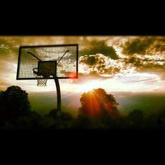 Basketball_Sunset in Berlin