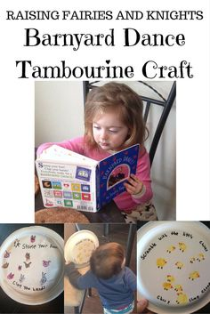 Barnyard Dance Tambourine Craft - pt
