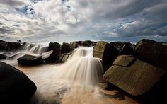 Waterfalls in Noosa, Australia