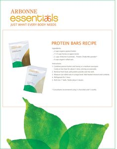 Arbonne protein bar recipe! Go to http://jessf.myarbonne.com for your protein! #vegan