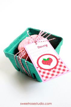 Berry Excited Teacher Gift and Tags at Sweet Rose Studio
