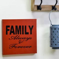 Family Priority Wall Art