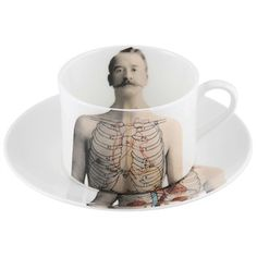 ANATOMICA COFFEE CUP AND SAUCER Designed by Lisa Turner