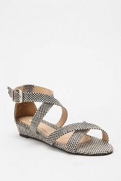 Kimchi Blue Woven Mini Wedge by Urban Outfitters