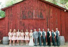 Rustic vintage Arizona wedding | photo by Daniel Kim Photography | 100 Layer Cake....location-granite creek vineyards