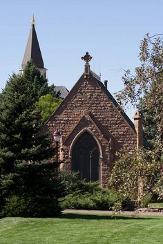 Evans Memorial Chapel by University of Denver, via Flickr....I practiced for opera juries in this beautiful place
