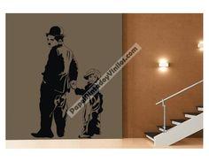 Buenos días amigos. Hoy desde PAPELPINTADO Y VINILOS queremos destacar nuestros vinilos decorativos de personajes. Disponemos de gran variedad, elige el que más te guste y personaliza de forma original tu ambiente. Visítanos en http://www.papelpintadoyvinilos.com/vinilos-decorativos-personajes/vinilos-decorativos-adhesivos-de-pared-charlot-aqm4321.html