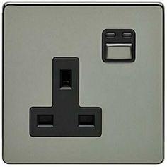 LightwaveRF 1 gang 13 amp Socket Switch