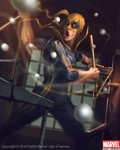 Iron Fist by on DeviantArt Marvel Comics Art, Marvel Fan, Marvel Heroes, Thor Marvel, Marvel Defenders, Spiderman Marvel, Superman, Marvel Actors, Marvel Characters