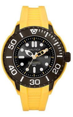 Nautica NMX 1000 Solar Quartz Dive Watch Latest Watches 974ce2cc293