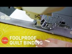 How to Bind a Quilt: Foolproof Tips for Great Results | Quilting Tutorial - YouTube