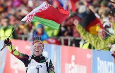 Белорусская биатлонистка Дарья Домрачева выиграла гонку преследования на этапе КМ в Чехии - http://russiancinema.rocknrollover.com/?p=262124