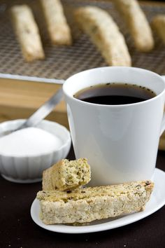 Hazelnut Biscotti - The only thing that would make them perfect is to ice the tops with chocolate.