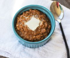 Pumpkin Pie Oatmeal Recipe - Easy Breakfast Treat or Eat for Dessert!