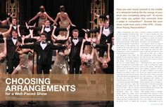 Choosing Arrangements for a Well-Paced Show - Productions Magazine