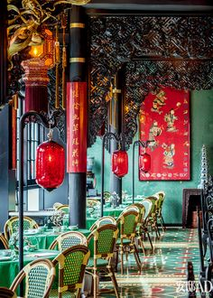 The Beauty of Complexity. In the Song, Ming literati aesthetics to become the mainstream of today's Chinese style today, the reputation of the Eight Immortals around the sword, to the century oriental style, to create this amazing marinite restaurant. Asian Interior Design, Chinese Interior, Asian Design, Interior And Exterior, Restaurant Oriental, Chinese Restaurant, Tea Restaurant, Restaurant Owner, Vietnamese Restaurant