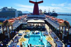 Carnival Imagination review: Detailed observations, photos, and video of this cruise ship on a 2014 trip to Ensenada, Mexico.