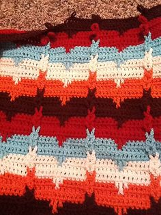 Very nice stitch, would be great for many applications | Southwestern Cable Afghan, free pattern by Karen Wolfram
