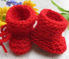 Baby shoes desired size & color Eco-virgin wool hand knitted