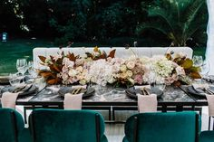 TABLE SETTING WITH A VIEW   Photography @anitrawellsphoto Styling, Design + Floristry @ruby_and_james Furniture + Tableware…