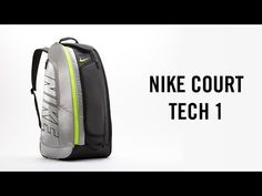 Nike Tennis Court Tech 1 Bag, mobile locker or tennis racquet bag? Watch the video and find out more! Get your's here: http://www.tennis-warehouse.com/Nike_Court_Tech_1_Racquet_Bag_Black_Volt/descpageBGNIKE-NCT1RB.html