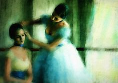 The Flamenco Dancers | Pat McDonald | TuttArt@ | Pittura * Scultura * Poesia * Musica |