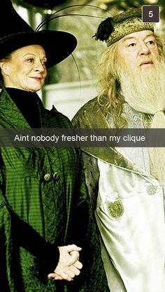 25 Snapchats From Hogwarts Professors these had me laughing!