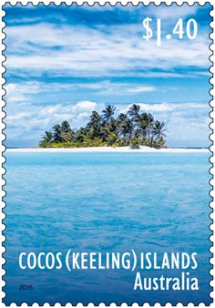 The Cocos (Keeling) Islands stamps release is now available to make you dream of being castaway. Buy in-store or online: http://auspo.st/1KgnJ7s #StampCollecting #CocosIslands