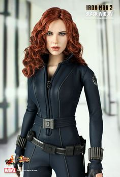 Hot Toys : Iron Man 2 - Black Widow 1/6th scale Limited Edition Collectible Figurine