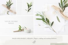 The Olive & White Bundle - 15 photos by White Hart Design Co. on…