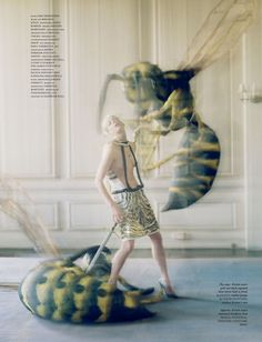 LOVE Magazine Issue #7 is out in stores now and what caught my eye was this awe-inspiring editorial spread featuring Kristen McMenamy. Titled The Origin Of Monsters, Kristen McMenamy is shot by the…