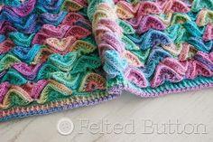 Botão de feltro - Crochet Patterns coloridos: | meus padrões |