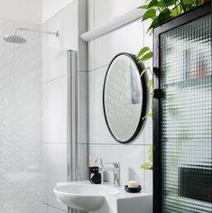 Decor, Furniture, Home Decor, Bathroom Mirror, Round Mirror Bathroom, Bathroom, Mirror