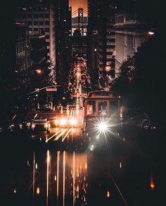 California Street San Francisco CA by Jude Allen #sanfrancisco #sf #bayarea #alwayssf #goldengatebridge #goldengate #alcatraz #california