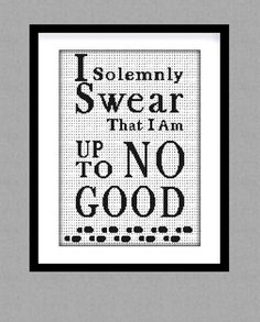 Harry Potter quote Cross stitch pattern. Harry by GlazovPattern