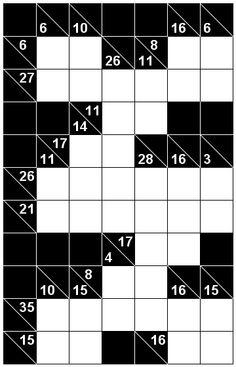 Number Logic Puzzles: 20064 - Kakuro size 3