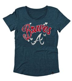 Atlanta braves ladies national title tank top navy blue all image detail for braves merchandise atlanta braves t shirts atlanta braves women fandeluxe Images