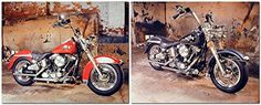 Absolutely Stunning! This unique wall poster adds an instant character with a decorative touch to your home. This poster captures the image of black & red Harley Davidson motorcycle which is sure to make this poster eye catchy and grab lot of attention. Its bring nice elegant touch to your home. It would be idle gift to any young teen age boy. Buy this beautiful wall poster for its excellent quality and perfect color accuracy.