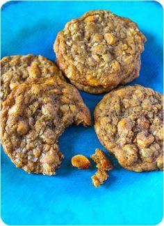 honey roasted peanut butter oatmeal scotchies.