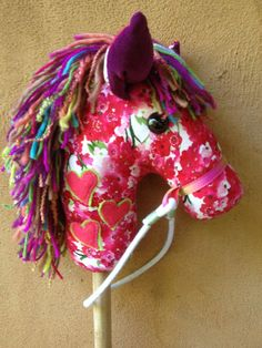 How To Make A Hobby Horse - A Complete Craft Kit with Instructional Disc with Colour Photos and Patterns by Chinky Monkey on Etsy, Sold