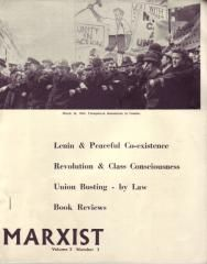 Marxist: Volume 2 No 3