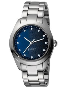 This Ladies Esprit watch is a feminine and cosmopolitian statement with a discount. Watch Brands, Smart Watch, Feminine, Watches, Lady, Top, Fashion, Women's, Moda