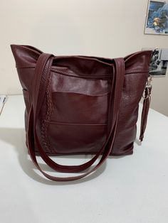 Handmade Purses, Messenger Bag, Satchel, Burgundy, Tote Bag, Leather, Bags, Fashion, Handmade Bags