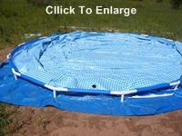 Step-by-step instructions for leveling the ground and installing a small above-ground pool.  Good information to have!