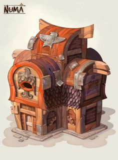 Numa house 03 by Cat...
