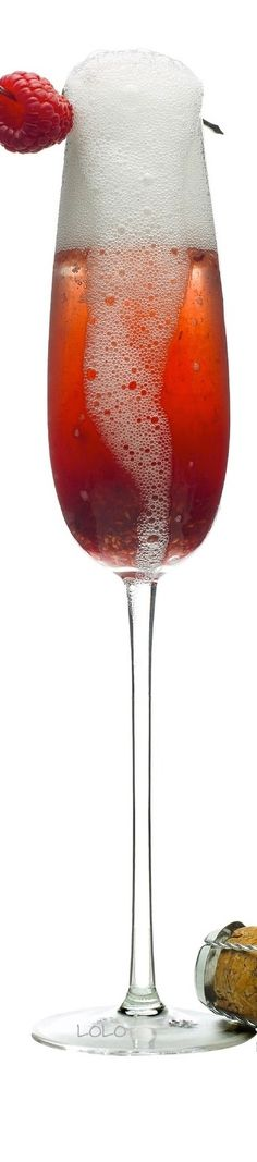 Cherry Berry Delight...Champagne, Cherry Vodka, Raspberry Preserves | LOLO
