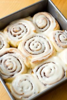 1 Hour Cinnamon Rolls (recipe)