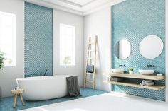 The Best Modern Bathroom Tile Trends Our Definitive Guide throughout [keyword Latest Bathroom Tiles, Modern Bathroom Tile, Bathroom Tile Designs, White Bathroom, Bathroom Interior Design, Bathroom Ideas, Bathroom Wall, The Block Bathroom, Bathroom Tiling